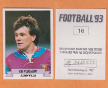 Aston Villa Ray Houghton Eire 16